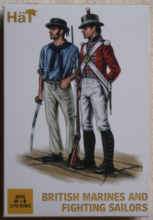 HaT 1/72 HAT8325 British Marines & Fighting Sailors (Napoleonic)